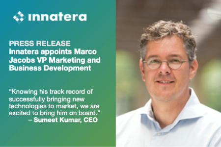 Innatera appoints Marco Jacobs VP Marketing and Business Development