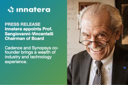 Neuromorphic processor leader Innatera appoints Prof. Alberto Sangiovanni-Vincentelli Chairman of Board
