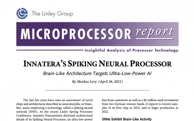 Microprocessor report article